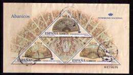 ESPAÑA 2005 - PATRIMONIO NACIONAL - ABANICOS - EDIFIL 4164 - USADO - 1931-Heute: 2. Rep. - ... Juan Carlos I