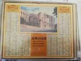CALENDRIER FRANCE 1956 AVIGNON MANQUE PLAN - Calendari