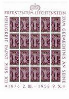 Mi. 380 ** 20er Bogen - Unused Stamps