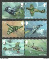 GROSSBRITANNIEN GRANDE BRETAGNE GB 2018  RAF CENTENARY SET 6V. MNH SG 4058-63 MI 4179-84 YT 4584-89 SC 3705-10 - Unused Stamps