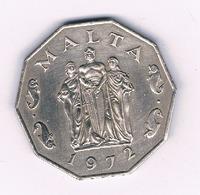 50 CENTS 1972 MALTA /5157/ - Malta