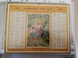 CALENDRIER FRANCE 1964 COMPLET AVEC PLAN SEINE MARITIME PROMENADE - Calendari