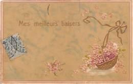 "FANTAISIE - GAUFREE - FLEURS - ""MES MEILLEURS BAISERS"" - Sonstige"