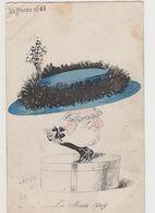 Carte Fantaisie Signée Roberty / La  Mode En 1909 .Le Sourire N°64 /Femme Avec Un Très Grand Chapeau - Other Illustrators