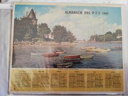CALENDRIER FRANCE 1964 COMPLET AVEC PLAN SEINE MARITIME PORNIC - Calendari