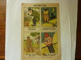 """Devinettes - Publicité """"Teinture Idéale - Boule - Selvé  """" - Pubblicitari"""