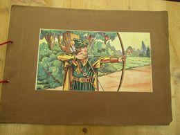 Robin Hood Movie Versie Errol Flynn Mooie Staat Compleet 1939 104 Chromo's - Libri, Riviste, Fumetti