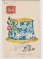 Carte Fantaisie Signée Roberty / La  Mode En 1909 ( été)  .Le Sourire N°112 /Femme Avec Un Très Grand Chapeau - Other Illustrators