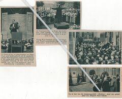 SINAAY-WAAS.1937.HERDENKT ZIJN GROTE COMPONIST EDGARD TINEL / LEMMENSGESTICHT GEDENKPLAAT ONTHULD - Vecchi Documenti