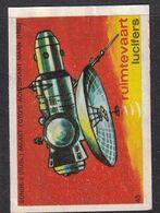 Netherlands Space Weltraum Espace: Lucifers Matchbox Labels: Zond 3 Moon Russia Moon Watch Programme - Zündholzschachteletiketten