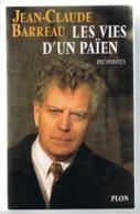 Jean-Claude BARREAU. Essayiste. Ancien Prètre. Conseillé De Mitterrand, Pasqua, Debré. - Politica