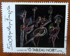 1991 FRANCIA Arte Dipinto Roberto Matta Ô Tableau Noir -  5 F - Usato - Modernos