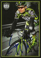 CARTE CYCLISME SANTIAGO BOTERO SIGNEE TEAM ROCK RACING 2008 - Radsport