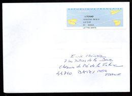 Enveloppe Vignette AP SPID 148 Sodexo La Poste 00200 HUB ARMEES Du 18/06/2020 - Marcophilie (Lettres)