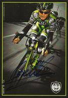 CARTE CYCLISME OSCAR SEVILLA SIGNEE TEAM ROCK RACING 2008 - Radsport