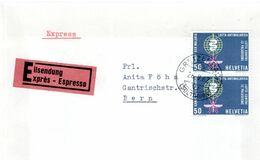 LETTRE EXPRES SUISSE 1962 - LUTTE CONTRE LA MALARIA - - Malattie