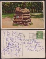 Postcard - USA - 1950 - Petesburg - Pocahontas Basin - Central Park - Circulee - A1RR2 - Etats-Unis