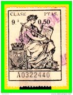REPUBLICA POLIZA CLASE 9ª VALOR FISCAL PERIODO 1925-1939 LA POLIZA ES LA DE LA IMAGEN - 1931-Aujourd'hui: II. République - ....Juan Carlos I