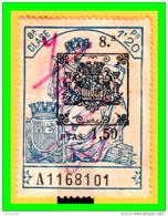 REPUBLICA POLIZA CLASE 8ª VALOR FISCAL PERIODO 1920-1930 LA POLIZA ES LA DE LA IMAGEN - 1931-Aujourd'hui: II. République - ....Juan Carlos I