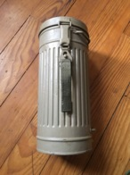 Boîte Masque à Gaz Allemand Ww2 Militaria - 1939-45