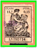 REPUBLICA POLIZA CLASE 11ª VALOR FISCAL PERIODO 1922-1939 LA POLIZA ES LA DE LA IMAGEN - 1931-Aujourd'hui: II. République - ....Juan Carlos I