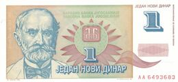 1 Dinar 1994 !!! Avram Money !!! Yugoslavia - Yugoslavia