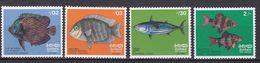 Sri Lanka 1972 - Mi.Nr. 428 - 431 - Postfrisch MNH - Tiere Animals Fische Fishes - Fishes