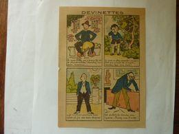 """Devinettes - Publicité """"Teinture Idéale - Boule  """" - Pubblicitari"""