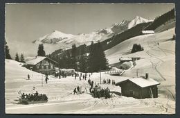 "Adelboden - Rest. Geilsbrüggll Autos U. ""Fram""auf Geilis.-  NOT  Used  1939  , 2 Scans For Condition. (Originalscan !! ) - BE Berne"