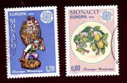 Europa 1976 - Monaco : Céramiques - Europa-CEPT