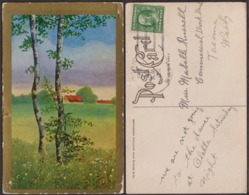 Postcard - USA - 1911 - Gig Harbour - Fantasy Card - Circulee - A1RR2 - Etats-Unis