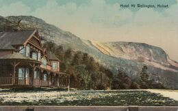 HOBART , Tasmania , Australia , 00-10s ; Hotel Mt Wellington - Hobart
