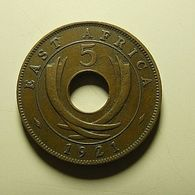 East Africa 5 Cents 1921 - British Colony