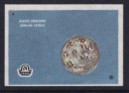 Yugoslavia Space Weltraum Espace: Drava Matchbox Label; Moon, Natural Earth Satellite - Zündholzschachteletiketten
