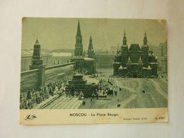 MOSCOU - La Place Rouge - Altri