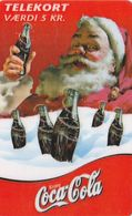Denmark, CP 016, Coca Cola Julekort 1999, Christmas, Only 400 Issued. - Denmark