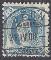 HELVETIA - SUISSE - SVIZZERA -Yvert 107, Usato, Come Da Immagine. - Used Stamps