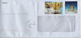 2018 San Marino Postal Stationary Plus One Stamp Used - Entiers Postaux