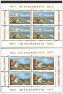 EUROPA CEPT, Mitläufer: RUMÄNIEN Block 141-142 Postfrisch **, Intereuropa 1977 - 1977
