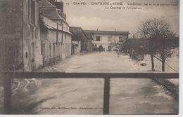 CPA Chatillon-sur-Seine - Inondations Des 20 Et 21 Janvier 1910 - Le Quartier De L'Arquebuse - Chatillon Sur Seine