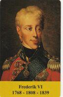 Denmark, CP 030, Danish Kings, Frederik VI, Only 250 Issued, 2 Scans - Denmark
