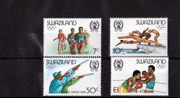 Swaziland - UMM, Olympics, 1984 - Swaziland (1968-...)