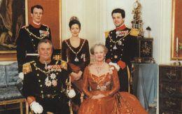 Denmark, CP 038, The Royal Family Of Denmark, Only 500 Issued. - Denmark