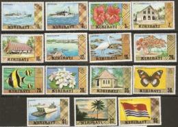 Kiribati  1979  SG  86-135 Definitives  Unmounted Mint - Kiribati (1979-...)