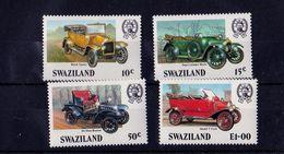 Swaziland - UMM, Veteran Cars, 1985 - Swaziland (1968-...)