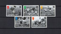 Great Britain - UK - England 1996 Football Soccer European Championship Set Of 5 MNH - UEFA European Championship