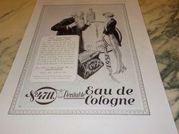 ANCIENNE PUBLICITE EAU DE COLOGNE  4711 ASSURE UN HEUREUX NOUVEL AN 1930 - Pubblicitari