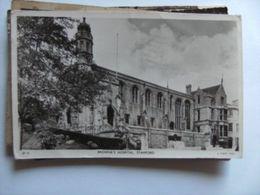 Engeland England Lincolnshire Stamford Browne's Hospital - Inghilterra