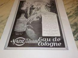 ANCIENNE PUBLICITE EAU DE COLOGNE  4711 Jours Heureux 1930 - Manifesti