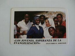 Secretariado Nacional De Misiones Vicencianas Spain España Pocket Calendar 1986 - Small : 1981-90